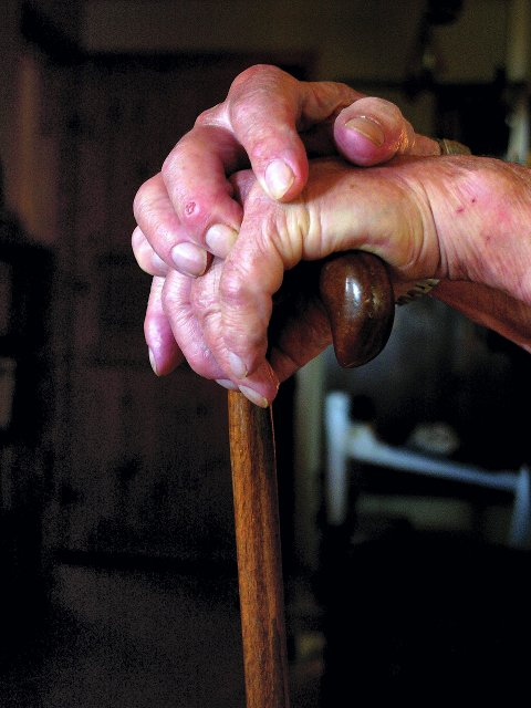 Ansvar: Omsorgen for eldre er viktig: