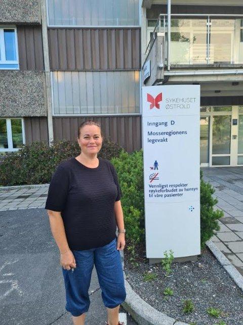 TRAVELT: Daglig leder Charlotte Dahlby Yrvum melder om stor pågang ved Mosseregionens legevakt denne sommeren.