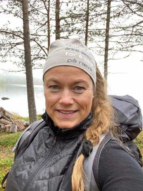 Leder: Kari Anita Furunes er leder i Rovviltnemda region 6, og beskriver nyheten om at bestandsmålet er nådd som stor.