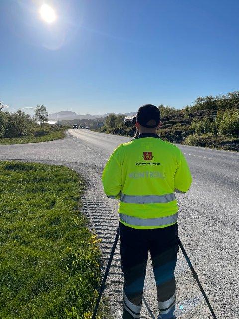 STORKONTROLL: Statens vegvesen gjennomførte i løpet av tirsdag og onsdag flere kontroller i Rørvik sentrum og på Marøya. Resultatet var nedslående.