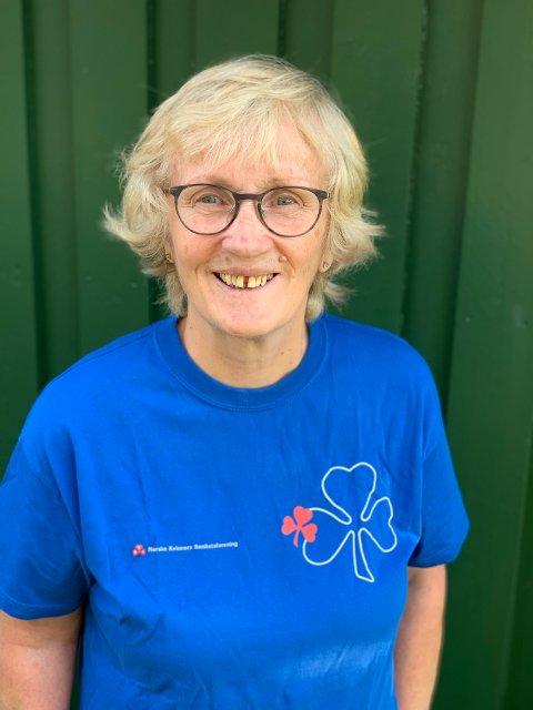 FEIRER JUBILEUM: Norske Kvinners Sanitetsforening feirer 125 år, og Åse Liv Råstad Rosset oppfordrer alle til å være med på å markere dette ved å delta på lørdagens Kløverstafett i Grong.