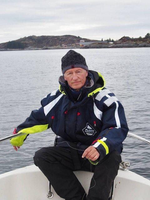 NYTT MUSIKKTEATER: Ola Grøvdal har sammen med Rolf Pettersen skrevet tekst og musikk til et nytt teater for skipsforliset «Sanct Svithun».