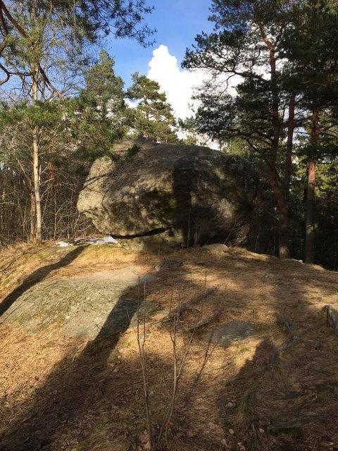 Østensjøområdet har en spennende geologi.