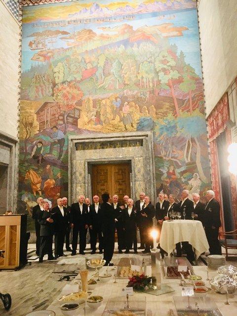 Bryn Mannskor i Oslo Rådhus