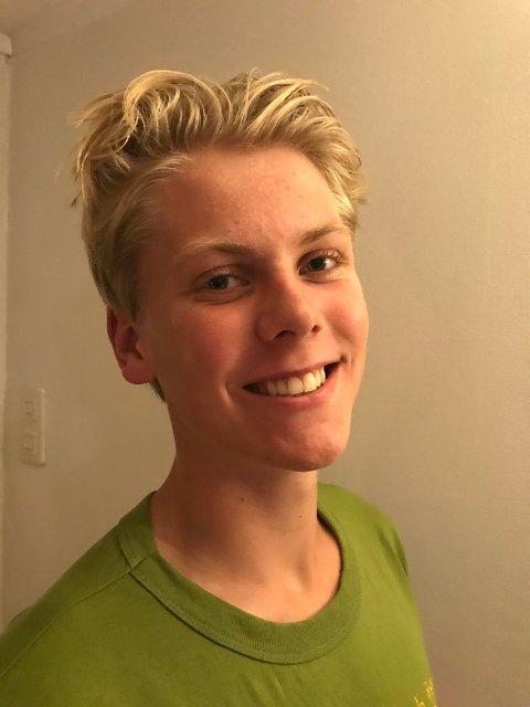 Sebastian G  Staalesen, 18 år og går på Foss vgs.