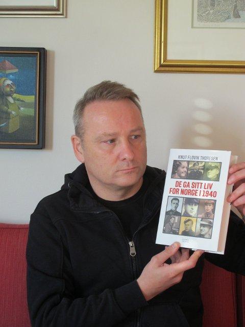 HISTORIKER: Historiker Knut Flovik Thoresen, som er kaptein i Forsvaret, har skrevet bok om de som mistet livet under den tyske invasjonen i 1940, deriblant folk fra Nordstrand og Søndre Nordstrand.