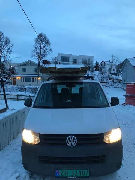 STJÅLET: Eier John Reidar Nymo Riseth utlover dusør for tips som fører til at bilen kommer til rette.