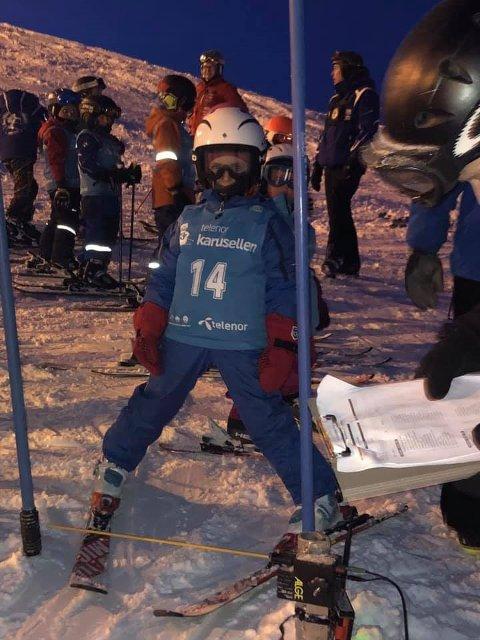 NY RUNDE: Tirsdag starter sesongens første Alpinus Telenorkarusell i Tromsø Alpinpark.