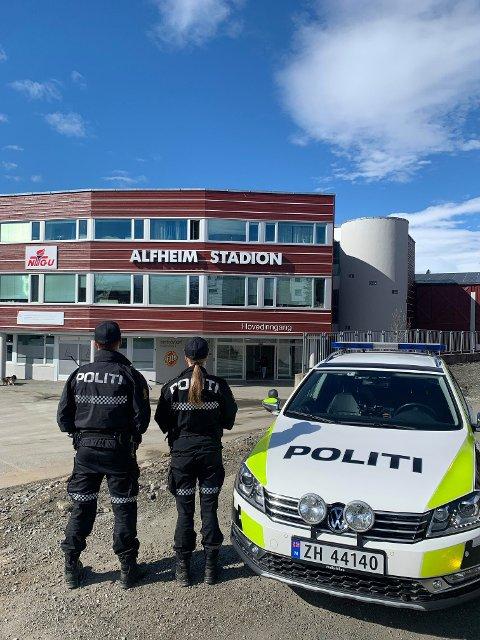 BRÅK: Politiet delte dette bildet på Facebook onsdag.