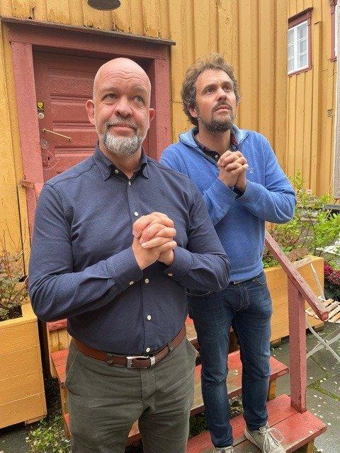 TROMSØ-HISTORIe: Per Helge Nylund og Harald Bakkeby Moe satser på historie om Tromsø  sommer