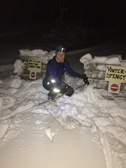 SNØFØRE: Skisugne kan bare vende snuta mot Spåtind - for der er det snø!