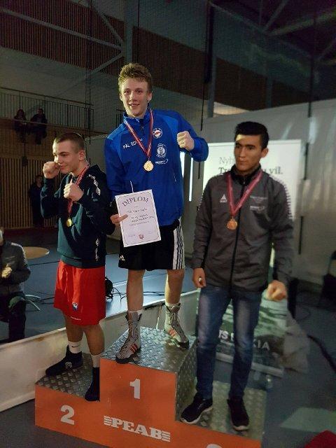 GULLGUTT: Pål Edvin Dyste tok NM-gull og fikk Fair Play-prisen under NM for junior og ungdom på Jessheim