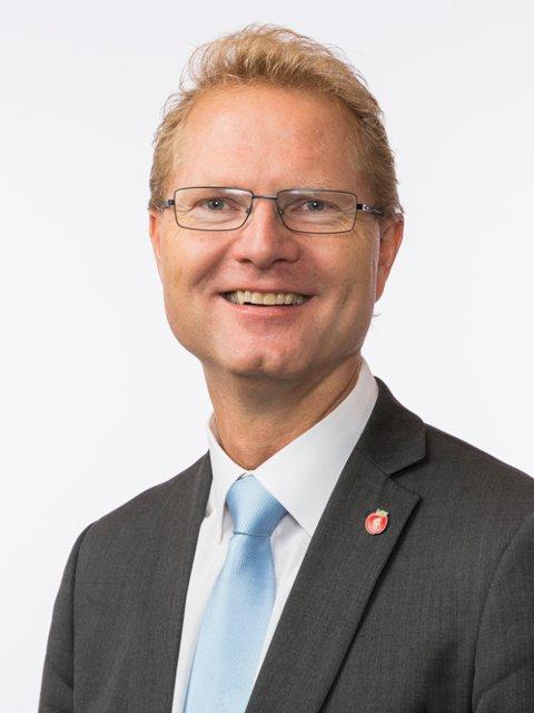 SKRYT TIL SP OG AP: Tor André Johnsen (Frp) jubler over at de to politiske motstanderne Ap og Sp støtter det nye snøscooter-forslaget.ARKIVBILDE