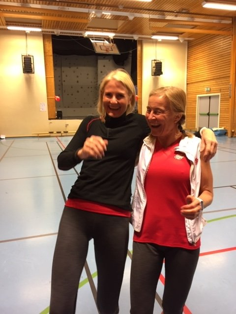 Ellie Lein og Christina Engebretsen