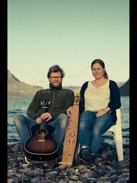 Plateaktuelle: Sudan Dudan er douen Anders Erik Røine og Marit Karlberg. Nå sliper de sin fjerde CD. Pressebilde