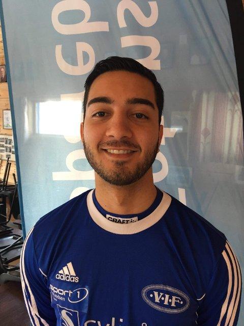 Jiyar Hassanzadeh spilte en god kamp for Vardal.