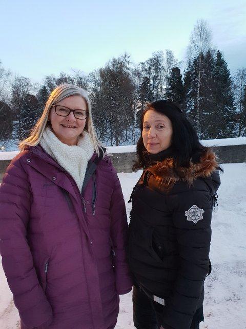Hilde K Jarlvang og Marit Alm er gruppeledere.