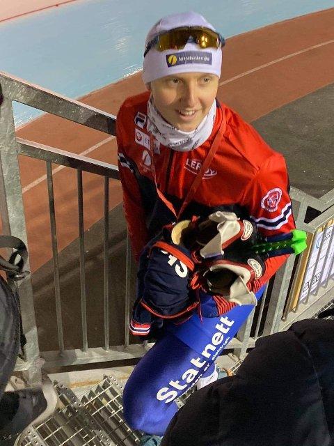 Sander Eitrem gikk inn til niendeplass i junior-VM allround på skøyter i Polen.