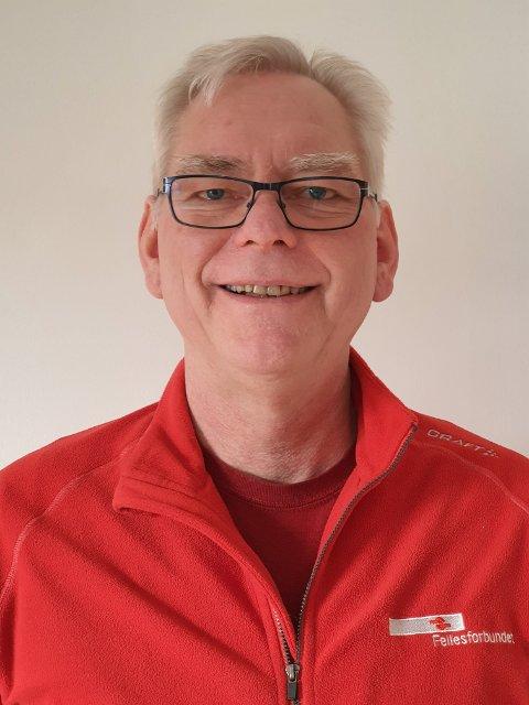 Jan Wiggo Hageløkken, leder i Fellesforbundet avd. 670.