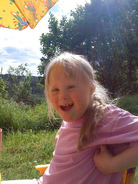 BEST: – Mitt barn med 47 kromosomer er min beste bursdags- og julegave ever, skriver Sølvi Jacobsen.
