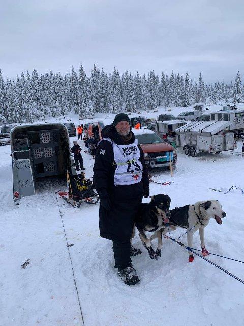 FIN START: Jørgen Solheim fra Varde imponerte på første del av Mush Synnfjell.