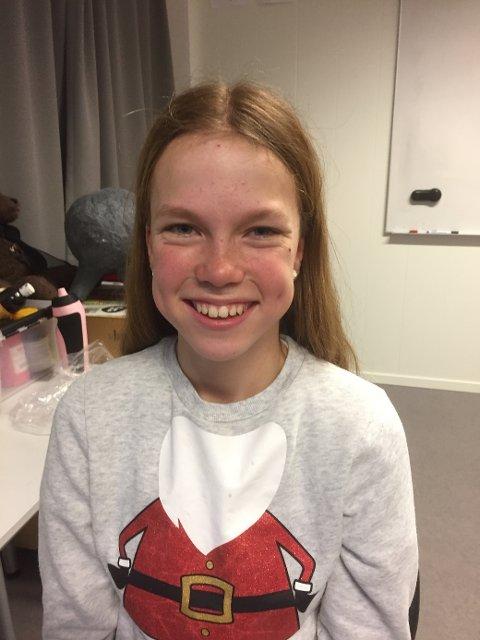 Nora Sofie Andersen har stått på og bidratt mest av alle, alene og sammen med venninner. Hun har også vørt en stor kilde til inspirasjon og en viktig motivasjonfaktor for medelevene.
