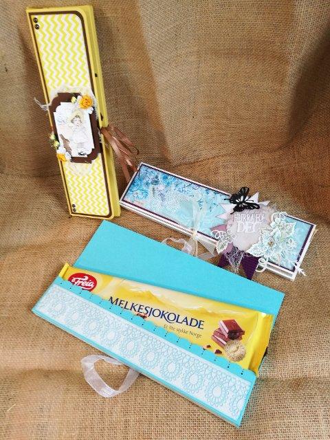 Søtt julekort – spesiallaget julekort for sjokolade.