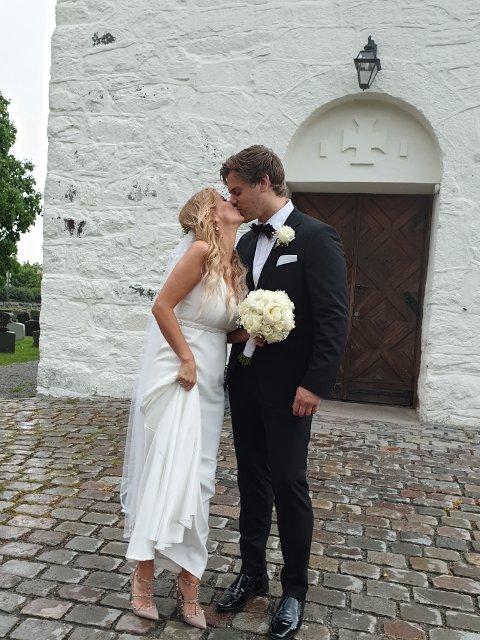 SKI MIDDELALDERKIRKE: Det var flere grunner til at akkurat denne kirken viet paret.