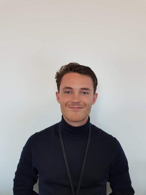 KARRIERE: Justin van der Pol jobbet lenge på McDonalds på Nygårdskrysset. Det har sørget for erfaringer som har hjulpet han videre i karrieren.