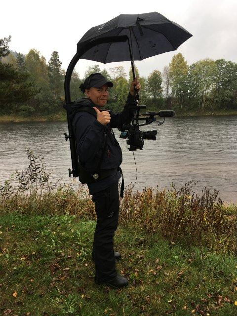 Mye natur: Dag Nordsveen har vært ute i all slags vær for å filme all den storslåtte naturen den nye kommunen har å by på.