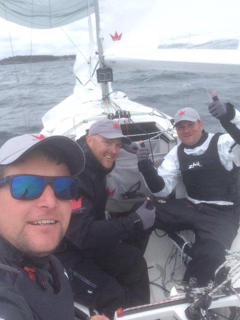 GJENNTOK FJORÅRETS SEIER: Lars Nilssen, Atle Dreng og Jørn Winters ble Norgesmestere for andre år på rad i helgen.