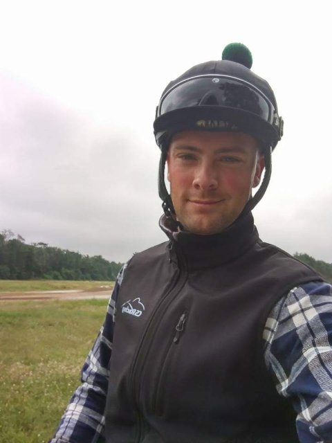 FIKK STIPEND: Kjetil Kjær fra Stavern, bosatt på Kløfta, fikk 10.000,- i Märtha-stipend for sin innsats for hestesporten.