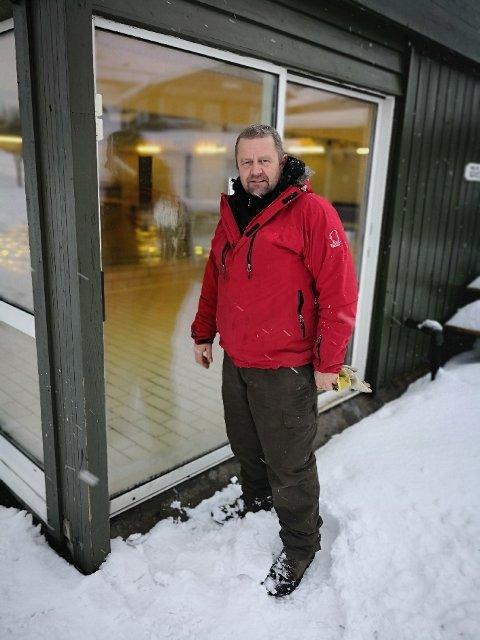NØDVENDIG: – Det var tvingende nødvendig å gjøre noe, sier Thorfinn Haugen, daglig leder i Gurvika.