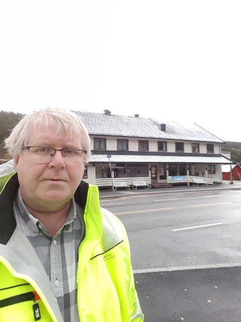 LOKALE INTERESSENTER: - Tre personer med tilknytning til Engerdal har meldt sin interesse for å drive kaféen som skal åpne i det nye Engerdal Torv neste år., forteller prosjektleder Ove Andreassen.
