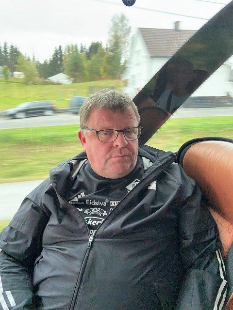 BETUTTET: Lagleder Vidar Pedersen følte seg krenket for utseende på Blåbærmyra og Kolbu KK og dommeren vil rapportere hendelsen til fotballkretsen.