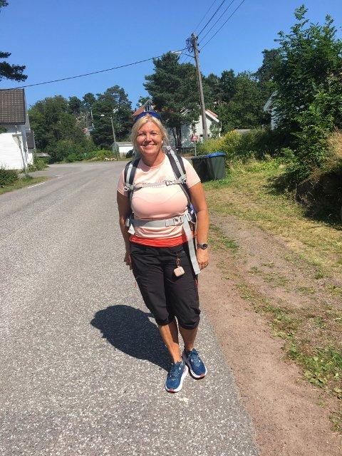 "Hilde Skudtvedt Moen ser ""langdistanse-aktig"" ut, mener Eivind Luthen, som møtte på henne i Tenvik. Det stemte også."