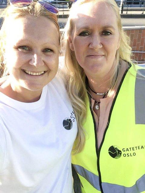 Flere ganger i året reiser Turid til Oslo for å være frivillig i Oslo Gateteam, som ledes av Siw Indsetviken.