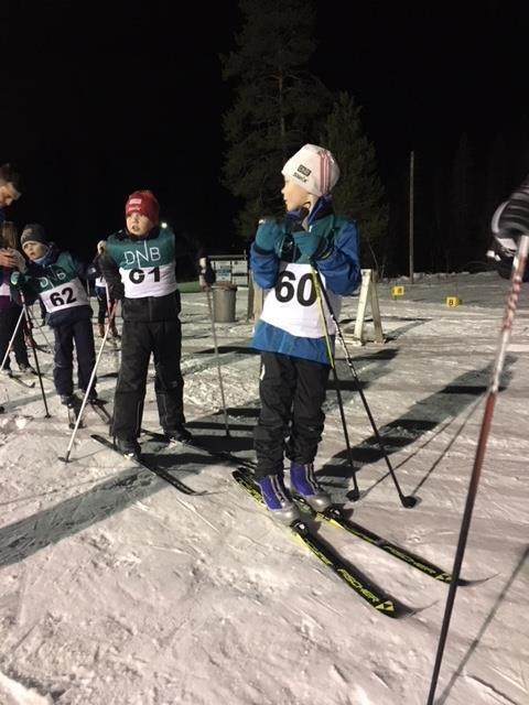 Nr. 60, 61 og 62 er Emil Fagerdal, Martin Mediå og Elvind Edvardsen Storholm.