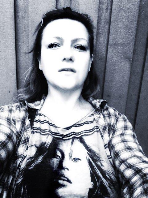 Kate Moss og en strøken meg.
