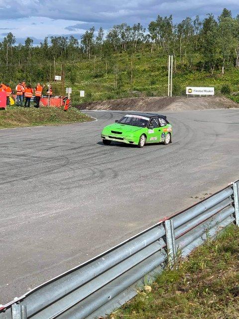 Stefan Åeng stakk av med seieren i klassen for biler med motor større enn 2,4 liter.