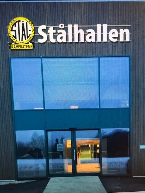 Fotballhallen har fått navnet Stålhallen, samme som den hadde.