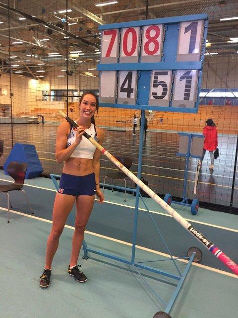 VM-klar: Med 4.51 for noen uker siden kvalifiserte Lene Retzius ser for VM.