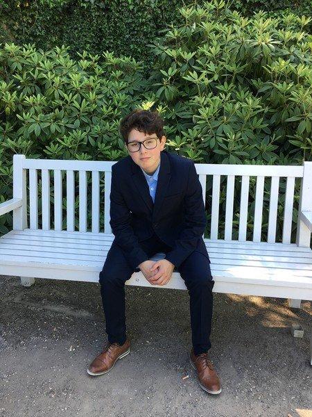 DREPT: Oscar André Ocampo Overn ble bare 15 år. Han døde av surstoffmangel etter å ha blitt kvalt av faren..