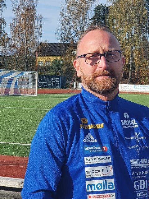 Klar til innsats: Anders Børkesveen er ny spillerutvikler på guttesiden i Brumunddal Fotball.