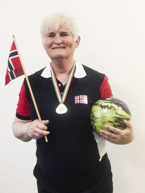 Best: Janne Monsen slo alle i klassen i veteran-EM.