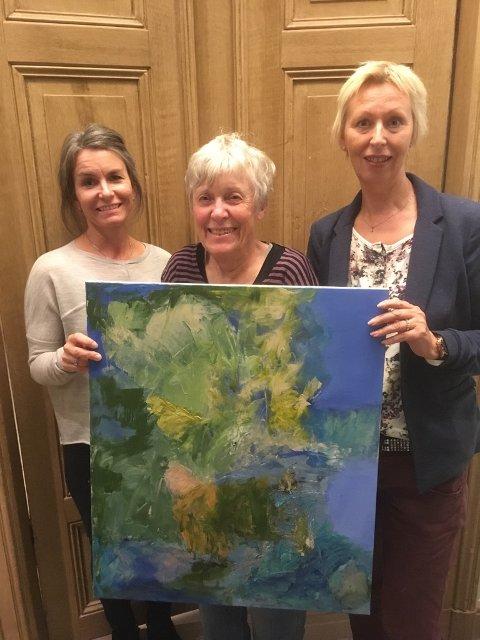 Gro Stensrud, Ingeborg Josephson og Anne Strand stiller ut i Fengselet.