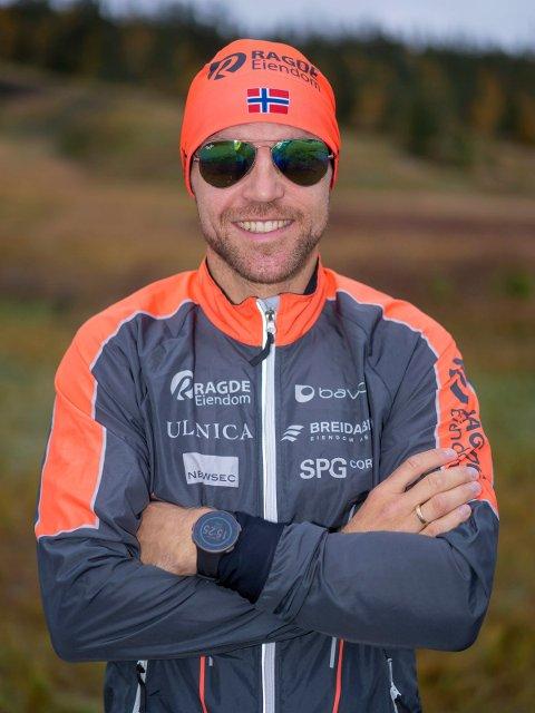 SJETTEPLASS:: Tord Asle Gjerdalen hang godt med i tetgruppa i  lørdagens løp i Italia.