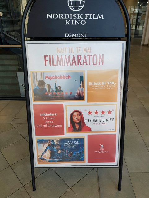 Maifest: Ungdom tilbys tre filmer på 16. mai.