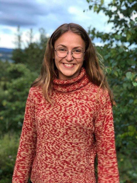 YNGST: Ester er på femte plass på KrF sin valgliste i Ringerike.