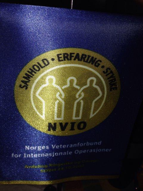 Veteranforeningen NVIO, avd Ringerike har markert FN dagen